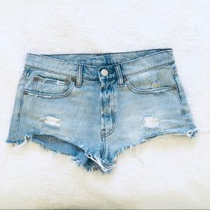 URBAN OUTFITTERS BDG jean shorts size 27 jorts